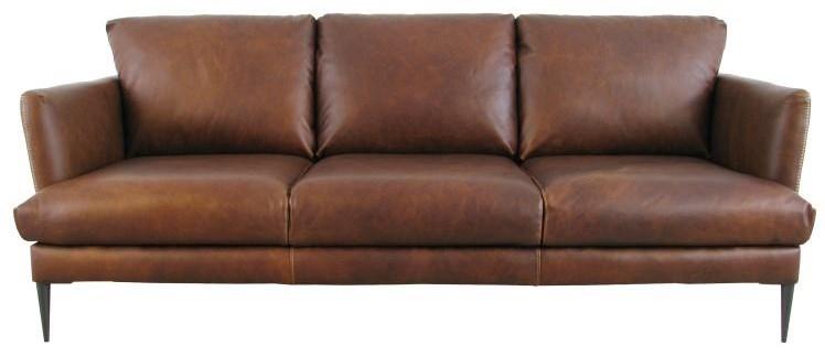 Trieste Sofa by Virginia Furniture Market Premium Leather at Virginia Furniture Market