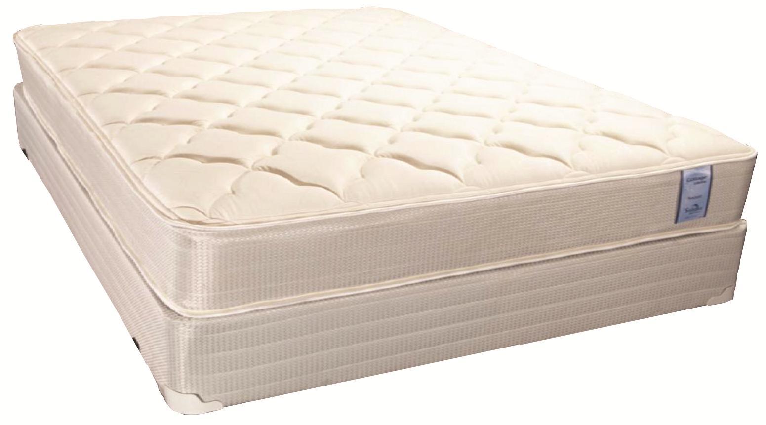Brockton Twin Plush Mattress Set by Solstice Sleep Products at Virginia Furniture Market