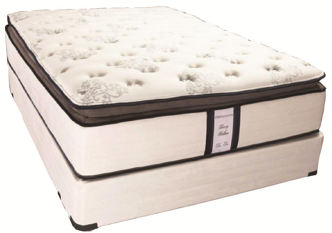 Nantucket Queen Pillow Top Mattress  by Solstice Sleep Products at Virginia Furniture Market