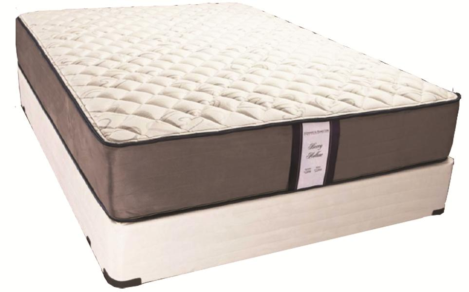 Yarmouth King Firm Mattress Set by Solstice Sleep Products at Virginia Furniture Market