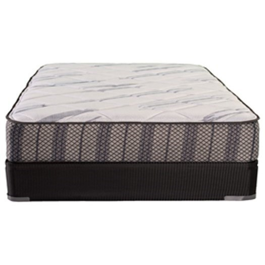 """Fenway Plush Twin XL 10"""" Foam Low Profile Set by Solstice Sleep Products at Virginia Furniture Market"""