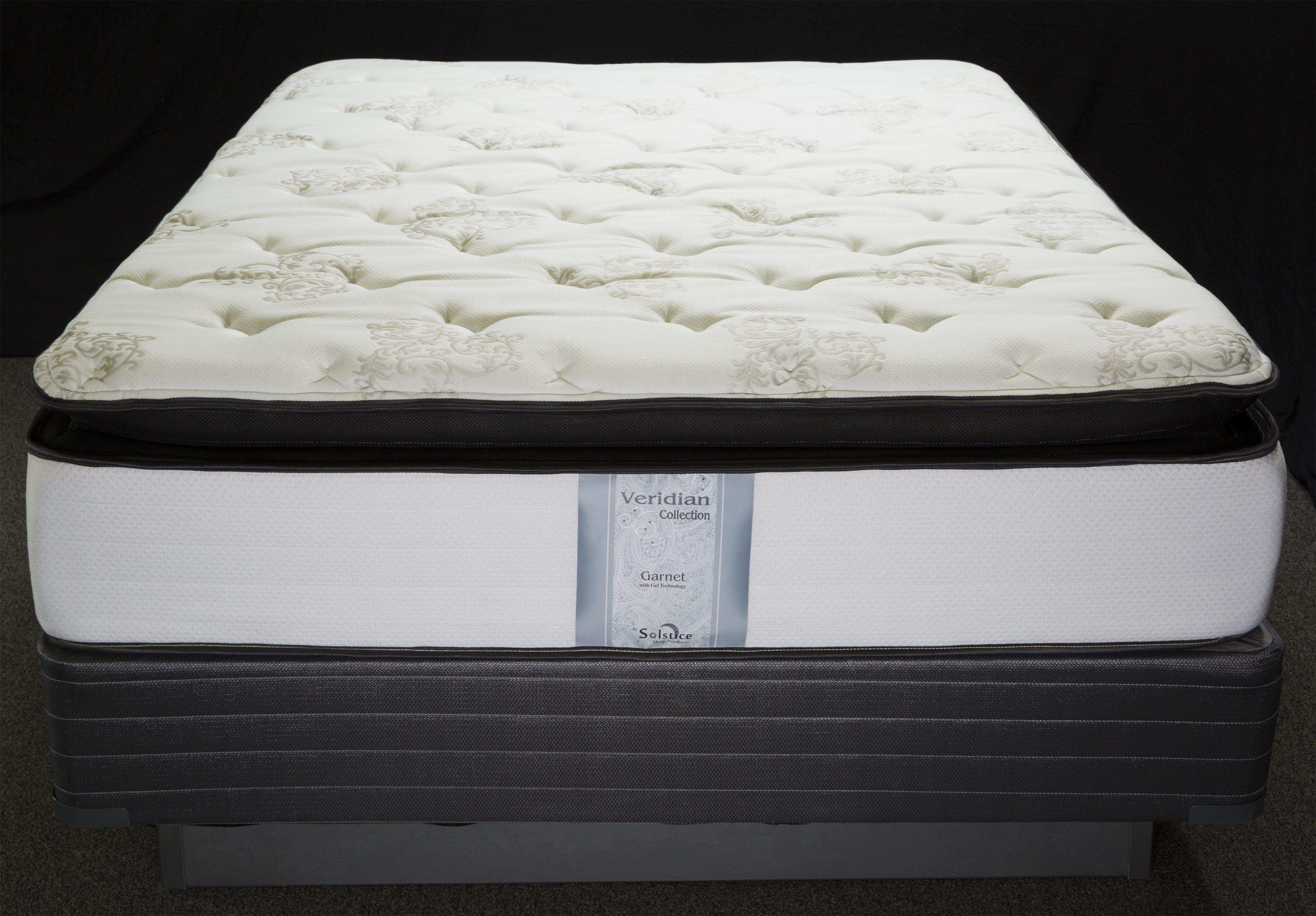 Veridian Garnet Queen Visco Pillow Top Mattress by Solstice Sleep Products at Virginia Furniture Market