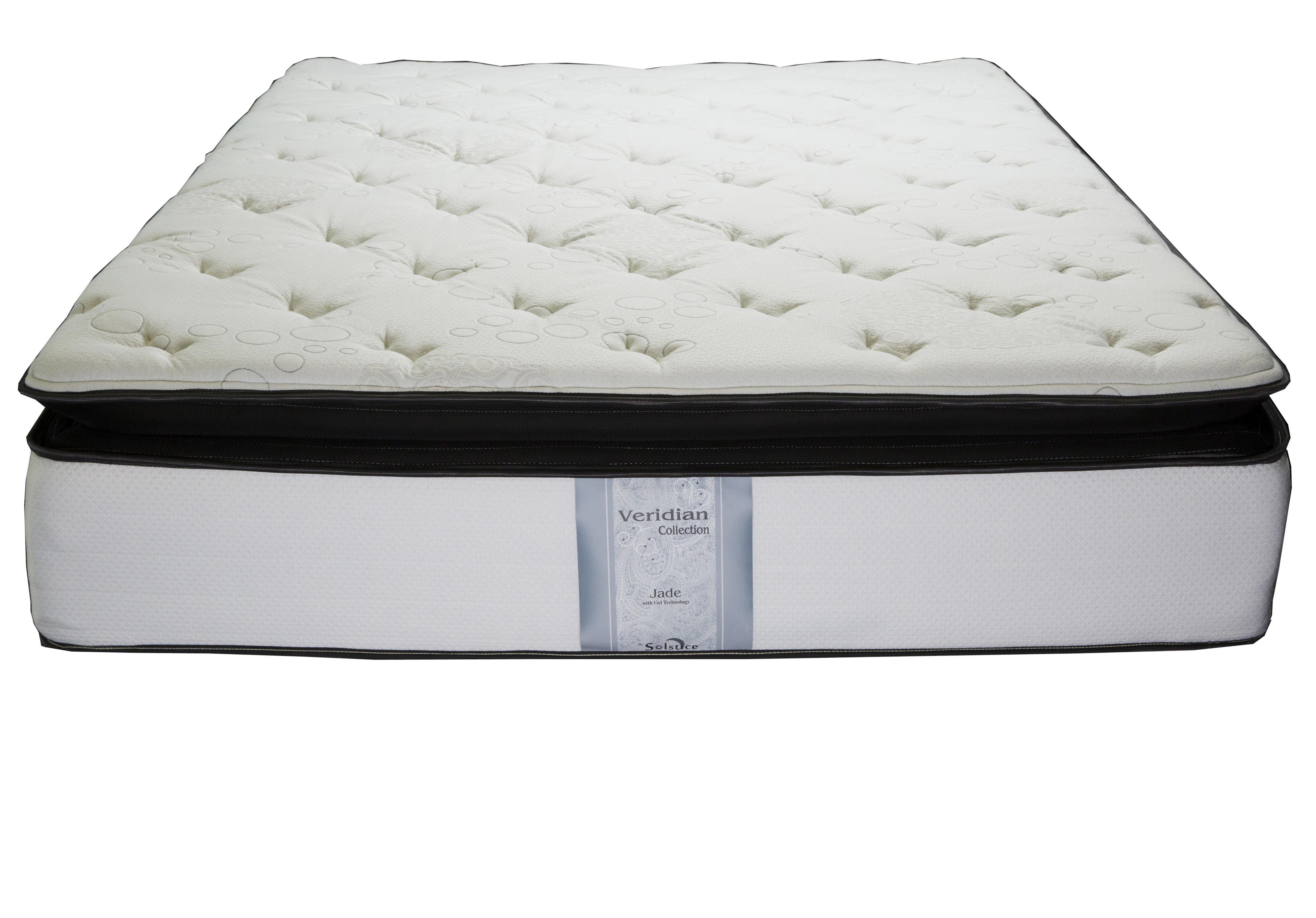 Veridian Jade Twin Pillow Top Mattress by Solstice Sleep Products at Virginia Furniture Market
