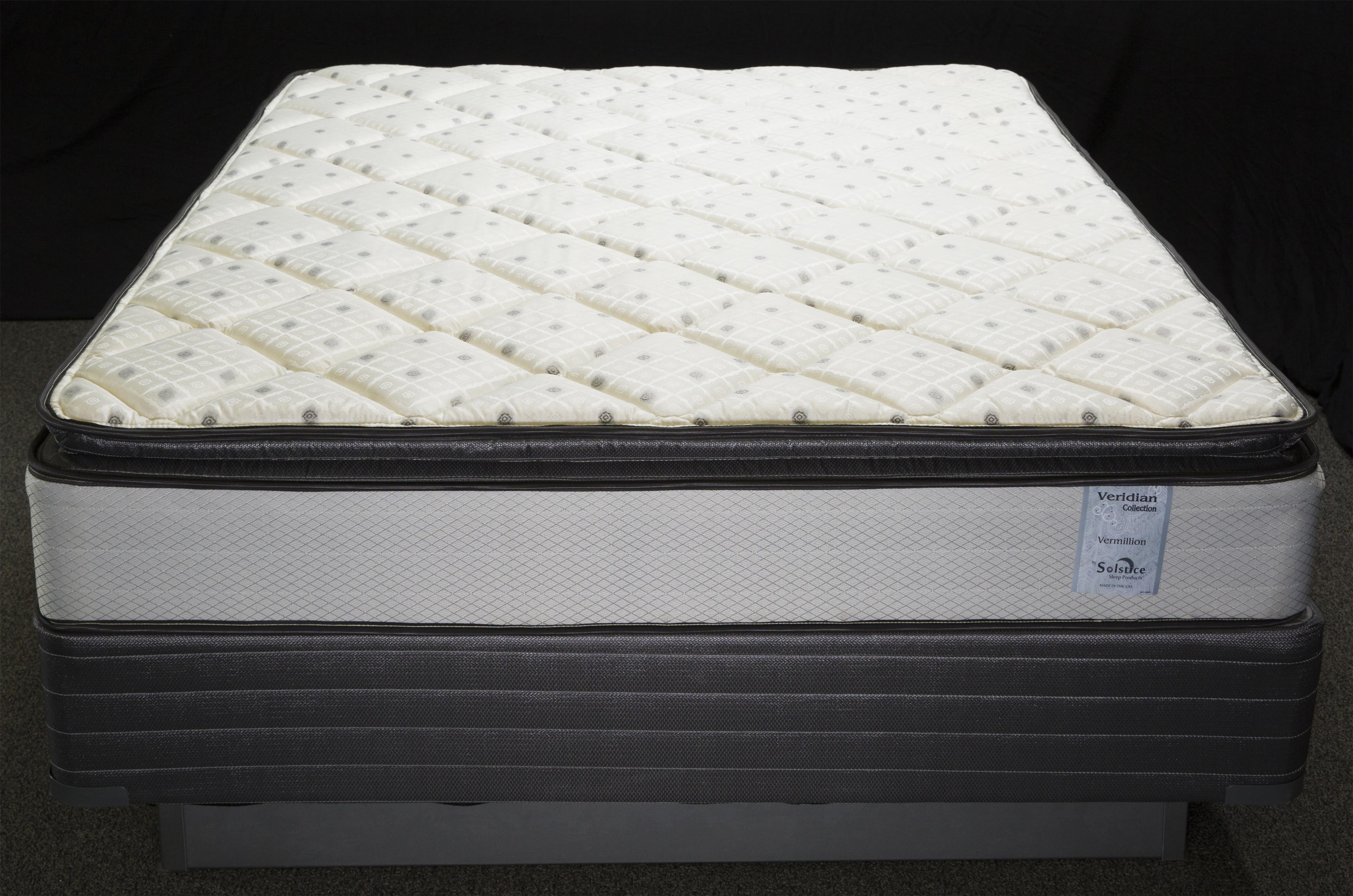 Veridian Vermillion Queen Pillow Top Mattress by Solstice Sleep Products at Virginia Furniture Market