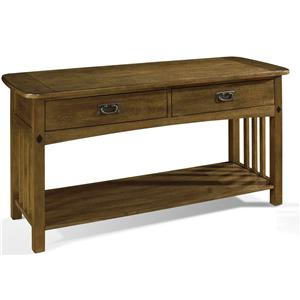 Somerton Craftsman Sofa Table