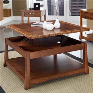 Somerton Milan Sq. Lift Top Cocktail Table