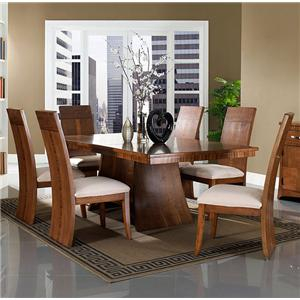 Somerton Milan 7 pc. Dining Table and Chairs Set
