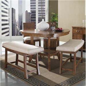 Somerton Milan 5 Piece Pub Table and Chair Set