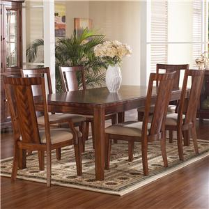 Somerton Runway 7 Piece Table & Chair Set