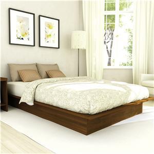 Sonax Bedroom Full Plateau Platform Bed