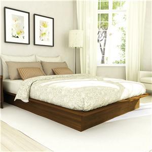 Sonax Bedroom Queen Plateau Platform Bed