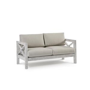 Loveseat with Luxterior Cushions