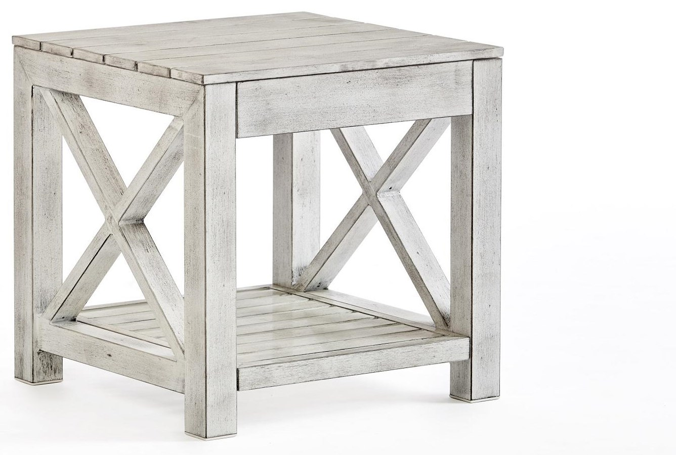 Farlowe End Table by South Sea Rattan & Wicker at Johnny Janosik