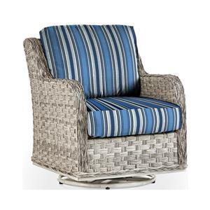 Swivel Glider w/Luxterior Cushions