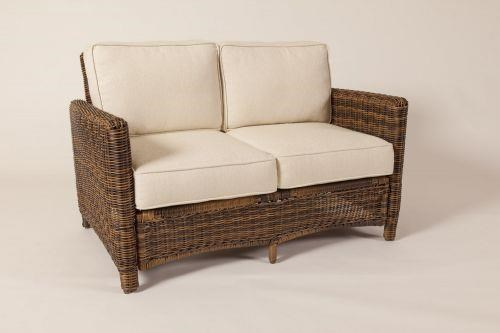 Del Ray Loveseat by South Sea Rattan & Wicker at C. S. Wo & Sons Hawaii