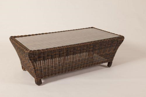 Del Ray Coffee Table by South Sea Rattan & Wicker at C. S. Wo & Sons Hawaii