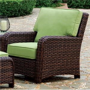 South Sea Rattan & Wicker St Tropez Chair