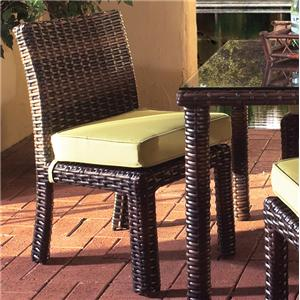 South Sea Rattan & Wicker St Tropez Side Chair
