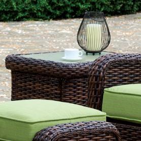 South Sea Rattan & Wicker St Tropez End Table