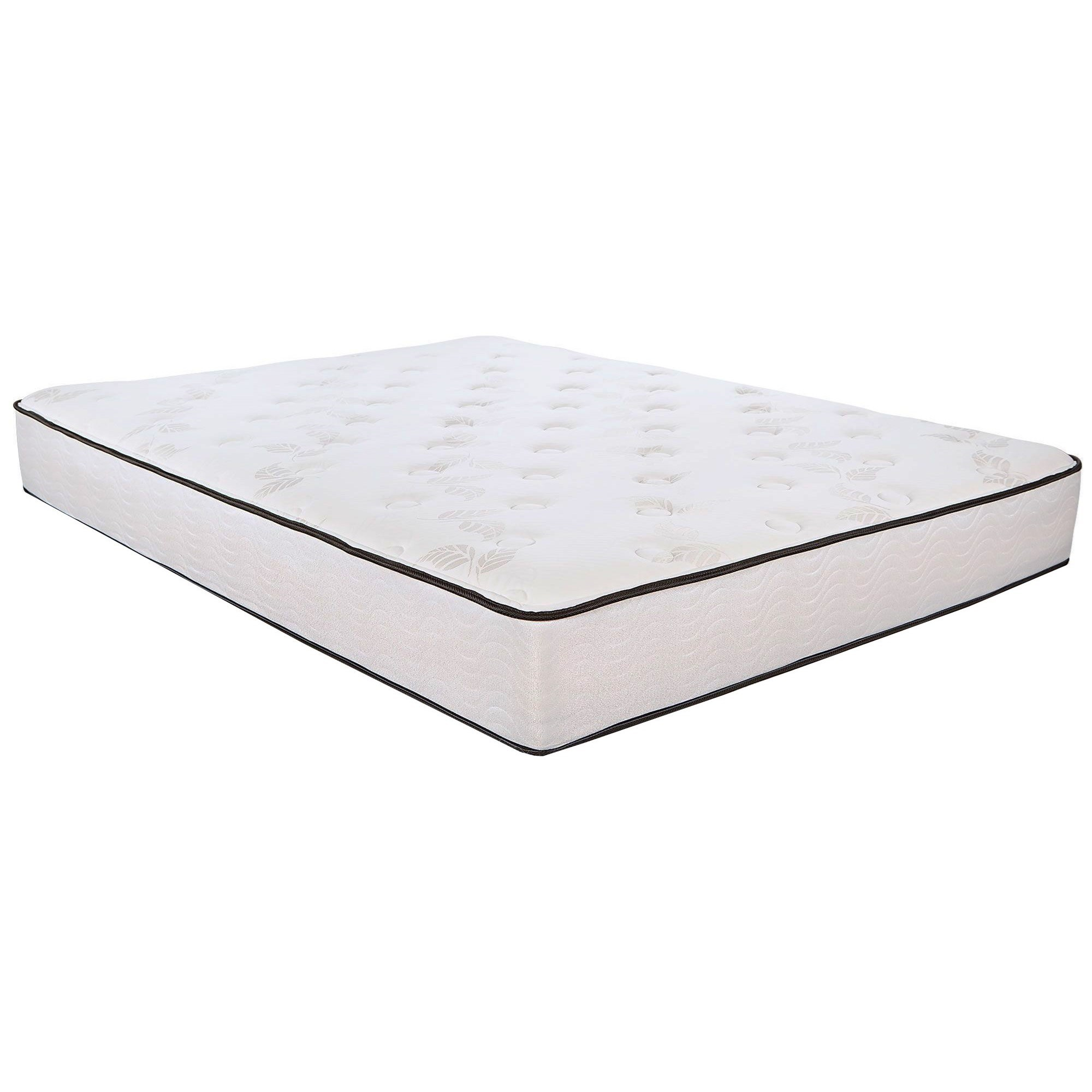 """5500 Plush Twin 10.9"""" Innerspring Mattress by Southerland Bedding Co. at Wilcox Furniture"""