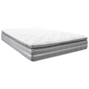 "Twin 14 1/4"" Pillow Top Pocketed Coil Mattress"