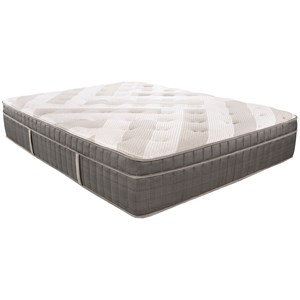 Twin Plush Euro Top Pocketed Coil Mattress
