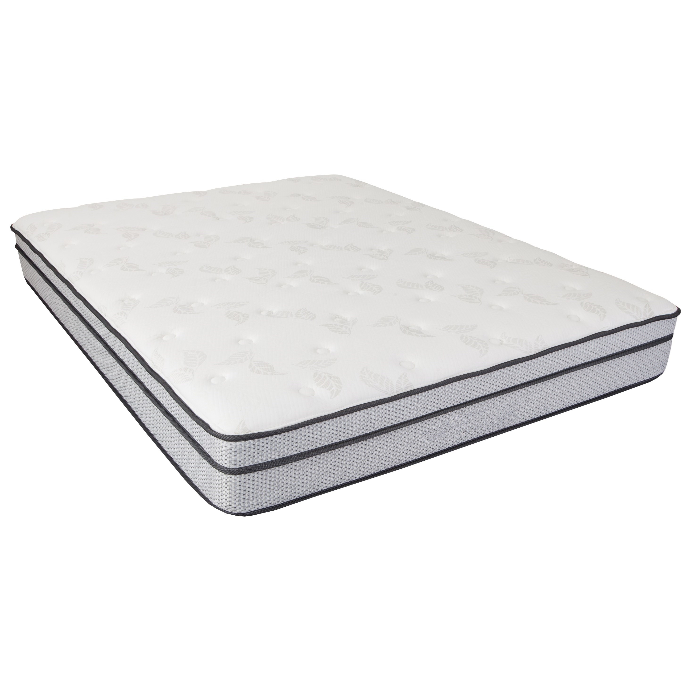 Select Fabric Closeout Cal King Innerspring Mattress by Southerland Bedding Co. at Wilcox Furniture