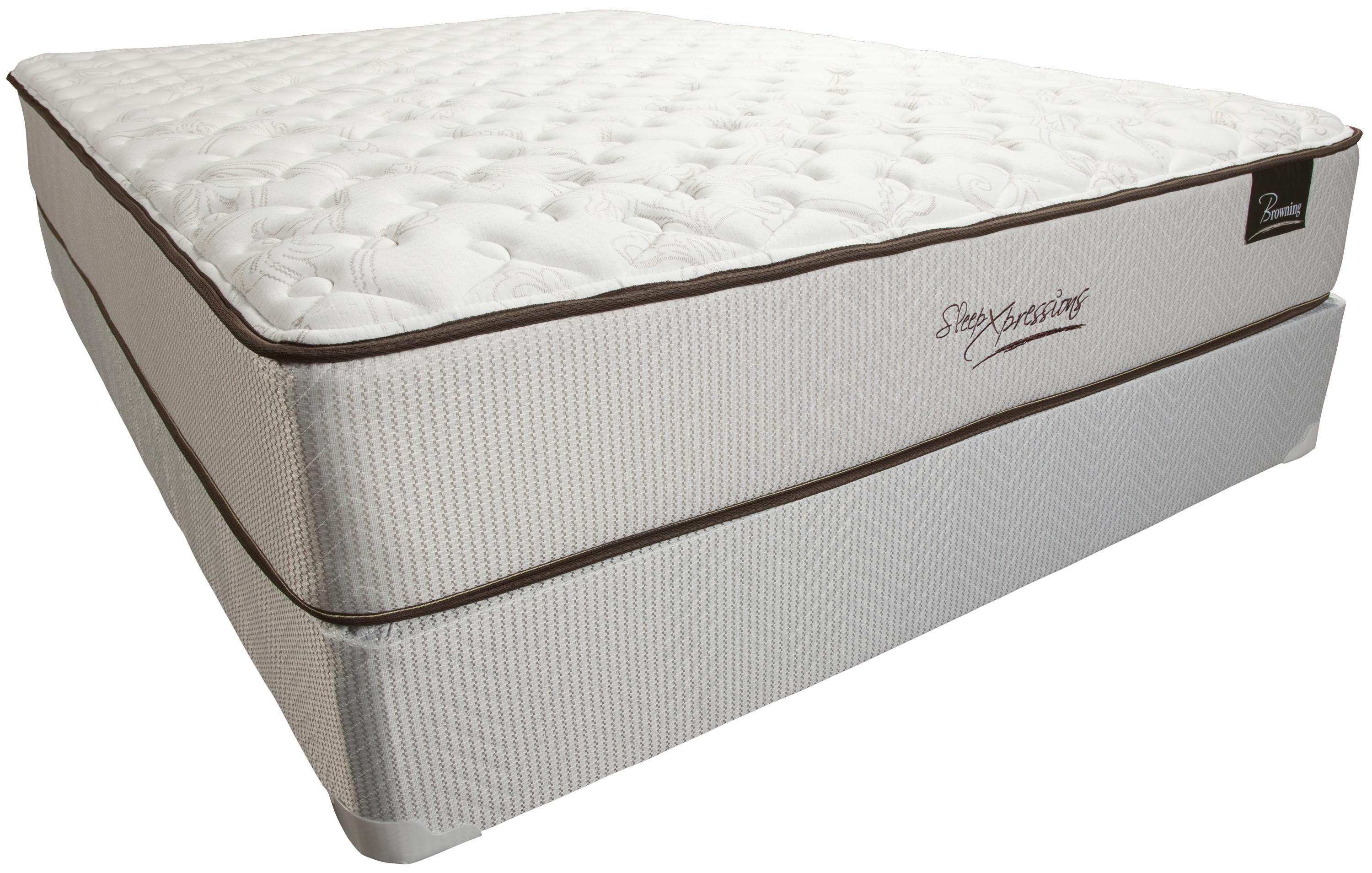 Sleep XPressions Browning Full Firm Mattress Set by Southerland Bedding Co. at Wilcox Furniture