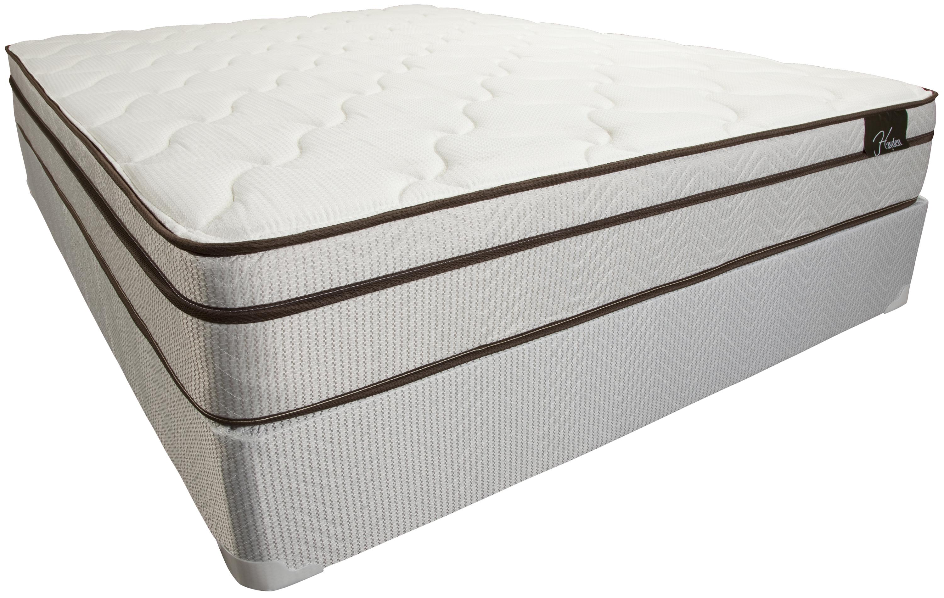 Sleep XPressions Hayden Queen Euro Top Mattress Set by Southerland Bedding Co. at Wilcox Furniture