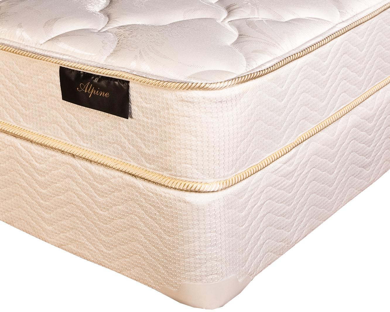 Southerland Queen Alpine Plush Mattress Set by Southerland Bedding Co. at Wilcox Furniture