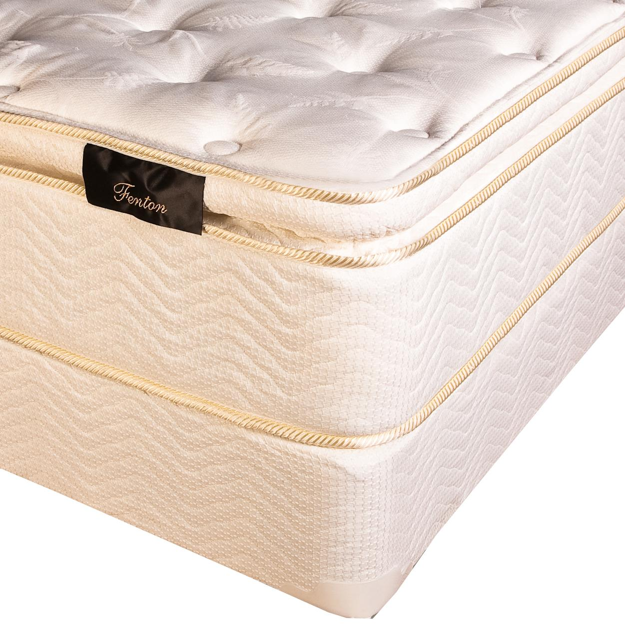 Southerland Twin Fenton Pillow Top Mattress Set by Southerland Bedding Co. at Wilcox Furniture