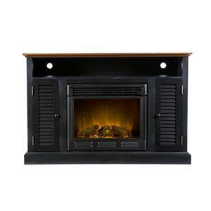 Southern Enterprises Antebellum Media Console with Electric Fireplace