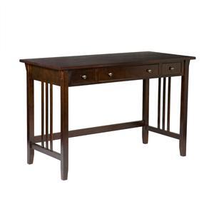 Southern Enterprises Desks and Chairs Espresso Mission Computer Desk