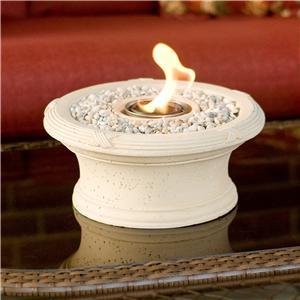 Southern Enterprises Fireplaces  Yukon Beige Personal Fireplace