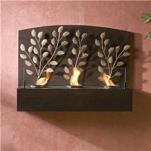Southern Enterprises Fireplaces  Vine Wall Mount Fireplace