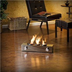 Southern Enterprises Fireplaces  Loft Portable Indoor / Outdoor Fireplace