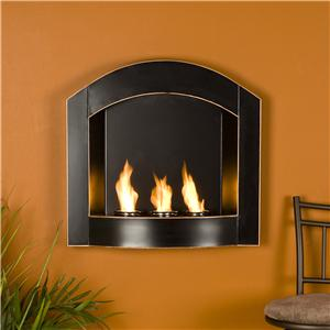 Southern Enterprises Fireplaces  Wall Mount Arch Fireplace