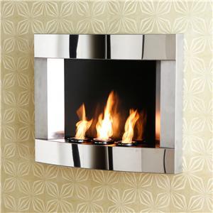 Southern Enterprises Fireplaces  Wall Mount Fireplace
