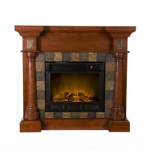Southern Enterprises Fireplaces  Carrington Slate Convertible Fireplace