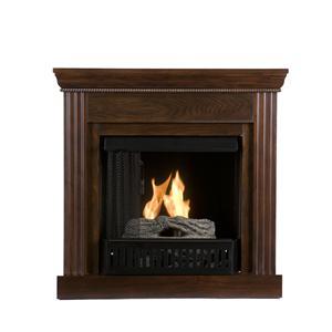Southern Enterprises Fireplaces  Walden Espresso Fireplace