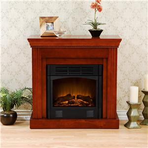 Southern Enterprises Fireplaces  Walden Electric Fireplace
