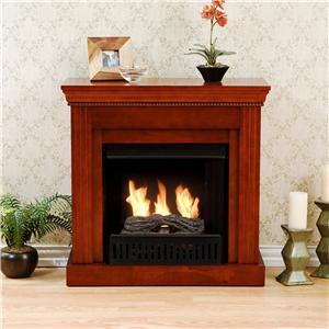 Southern Enterprises Fireplaces  Walden Gel Fuel Fireplace