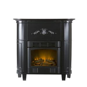 Southern Enterprises Fireplaces  Mayfair Petite Electric Fireplace