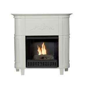 Southern Enterprises Fireplaces  Mayfair Petite Gel Fuel Fireplace