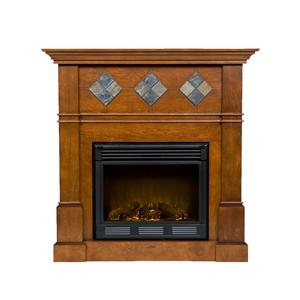 Southern Enterprises Fireplaces  Monticello Electric Fireplace