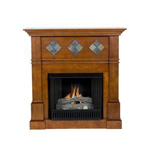 Southern Enterprises Fireplaces  Monticello Gel Fuel Fireplace