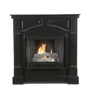 Southern Enterprises Fireplaces  Heritage Gel Fuel Fireplace