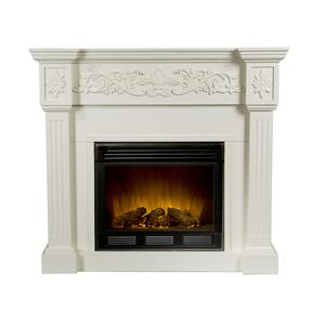 Southern Enterprises Fireplaces  Calvert Electric Fireplace