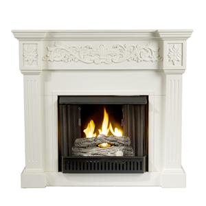 Southern Enterprises Fireplaces  Calvert Gel Fuel Fireplace