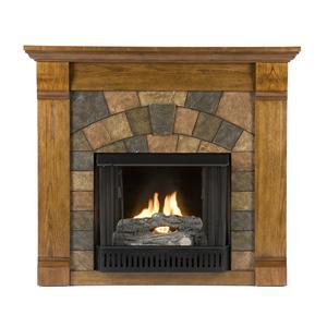 Southern Enterprises Fireplaces  Elkmont Gel Fuel Fireplace